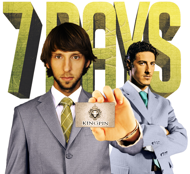 7 Days As A Kingpin ~ Starring Joel David Moore & Eric Balfour